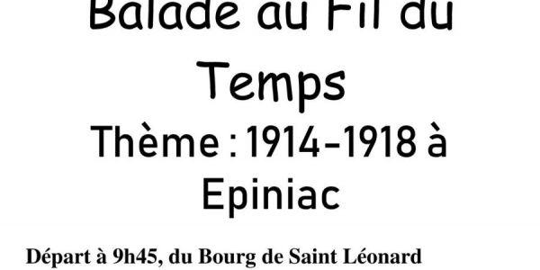 Le 14 juillet 2018 : Balade Au Fil du Temps !