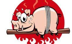 Dimanche 2 septembre : Cochon grillé, clôture du marché de Saint-Léonard