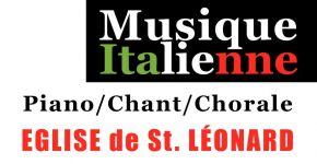 Dimanche 23 septembre : Concert à l'église de Saint-Léonard