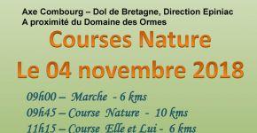 Dimanche 4 novembre à Epiniac : 20ème Foulées St-Léonard