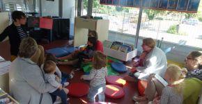 Petite enfance : LE RIPAME, un service de la communauté de communes vers les familles….