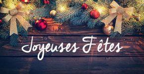 La municipalité vous souhaite de joyeuses fêtes de fin d'année !