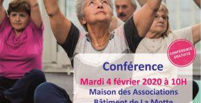 Conférence gratuite : L'Activité physique adaptée