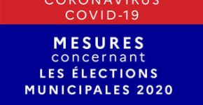 Mesures concernant les élections municipales 2020