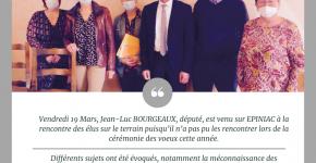 Visite de Jean-Luc BOURGEAUX, Député