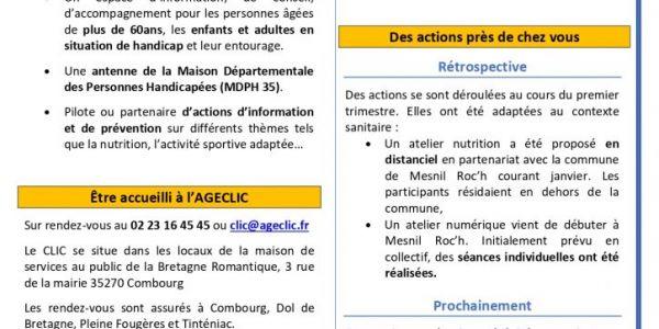 AGECLIC Infos