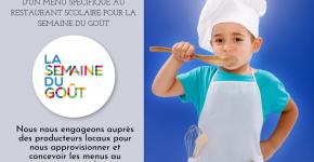 Restaurant scolaire - La semaine du Goût
