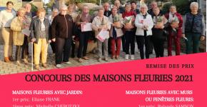 Concours maisons fleuries - Remise des prix