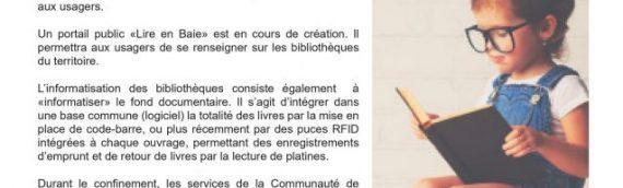 COVID-19 : La lettre d'information communautaire