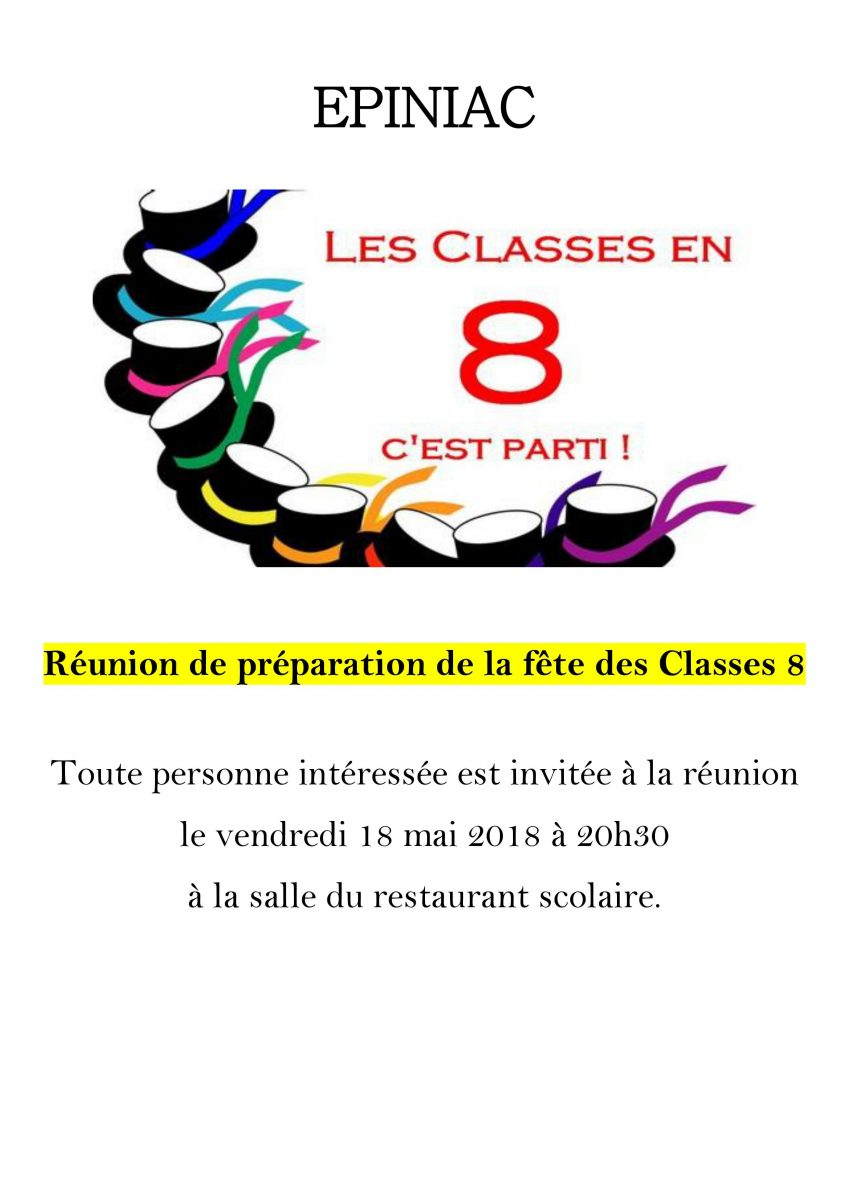Classes 8