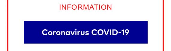 CORONAVIRUS COVID-19 : Lettre aux habitants