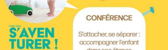 Mardi 31 mars : Conférence à Epiniac, semaine de la Petite Enfance