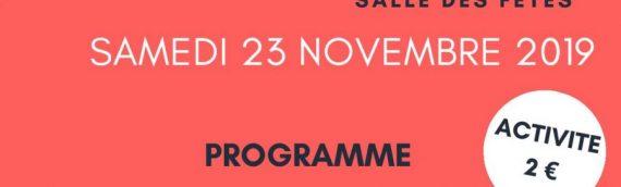 Samedi 23 novembre : TELETHON 2019 à Epiniac