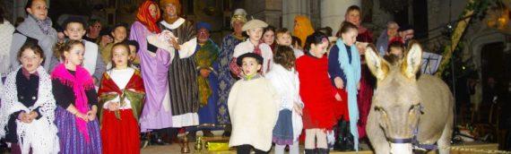Lundi 24 décembre : la traditionnelle crèche vivante à Epiniac