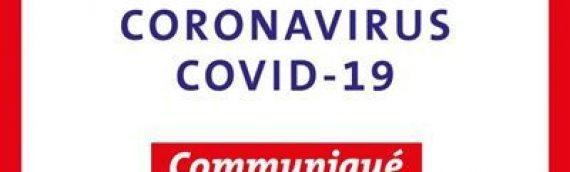 COVID19 : Communiqué du Maire